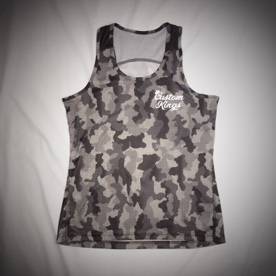 Custom Kings Hex Camo Vest