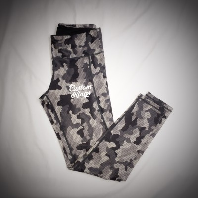 Custom Kings Hex Camo Leggings