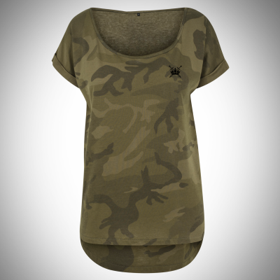 Sword & Crown Camo Tee