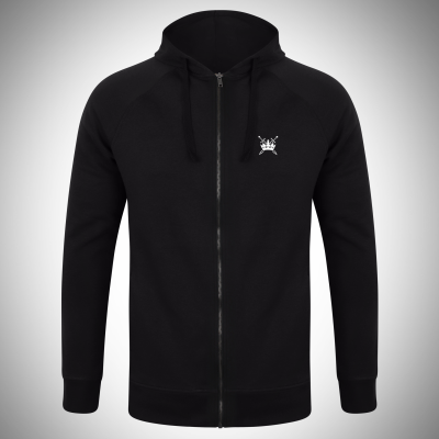 Sword & Crown Unisex Slim Fit Zip Hoodie