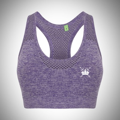 Sword & Crown Seamless Sports Bra