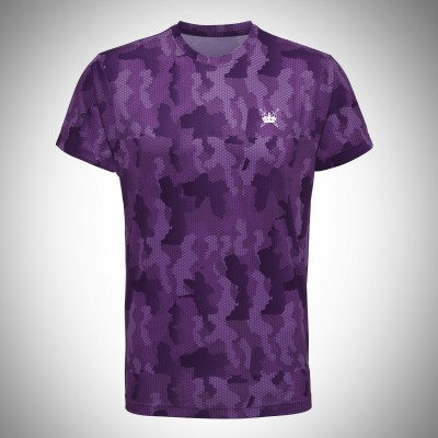 Sword & Crown Hex Camo Tee (M)