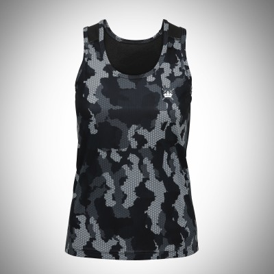 Sword & Crown Hex Camo Vest (F)