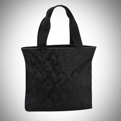 Black Camo Shoulder Tote Bag